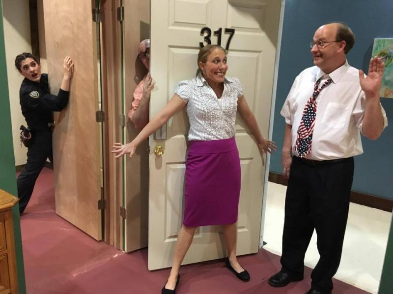 BWW Review: UNNECESSARY FARCE at Ankeny Community Theatre