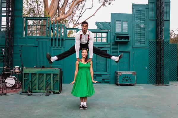Patrick Batiste and Katie Powers-Faulk Photo