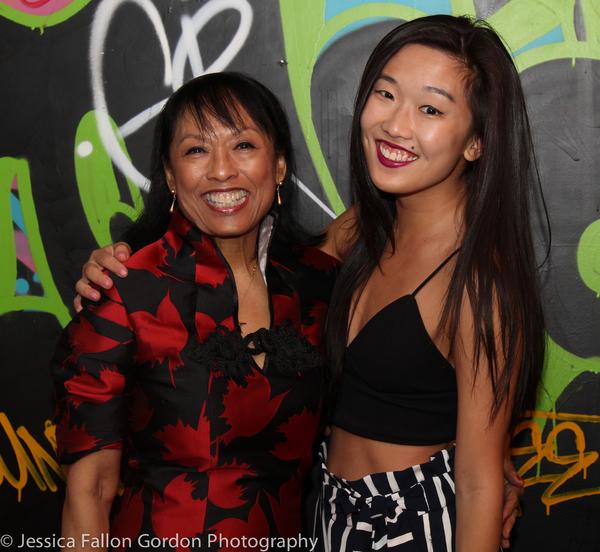 Baayork Lee and Viveca Chow
