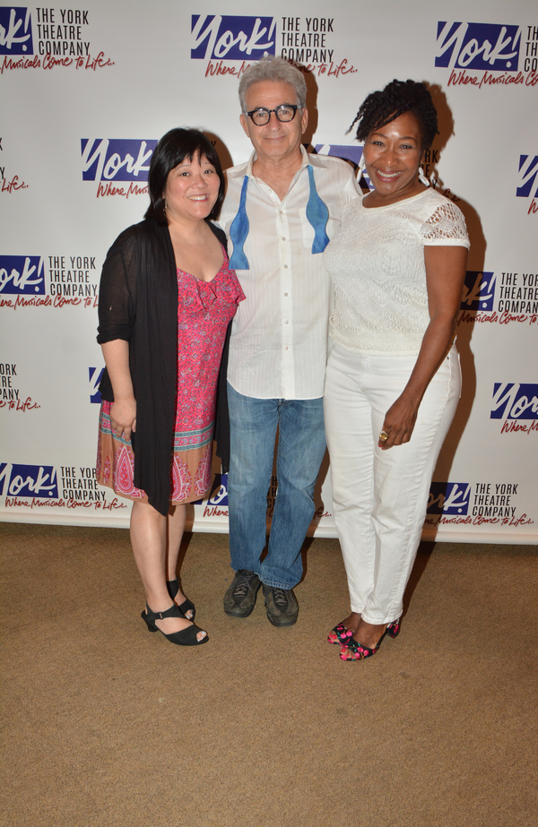 Ann Harada, Paul Kreppel and Andrea Frierson
