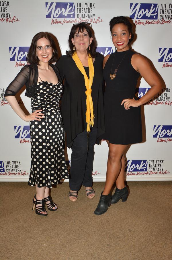Stephanie D'Abruzzo, Christine Pedi and Stephanie Umoh