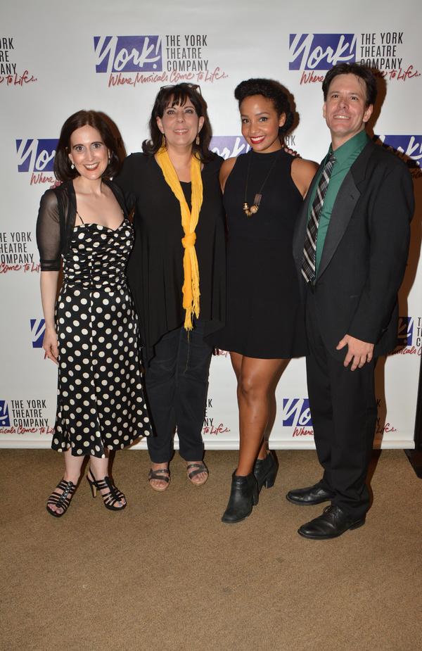 Eric Svejcar, Stephanie D'Abruzzo, Christine Pedi and Stephanie Umoh