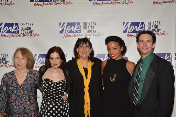 Pamela Hunt, Stephanie D'Abruzzo, Christine Pedi, Stephanie Umoh and Eric Svejcar