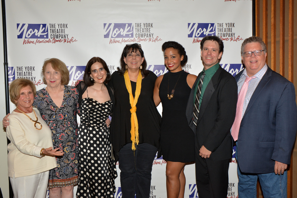 Riki Kane Larimer, Pamela Hunt, Stephanie D'Abruzzo, Christine Pedi, Stephanie Umoh, Eric Svejcar and James Morgan