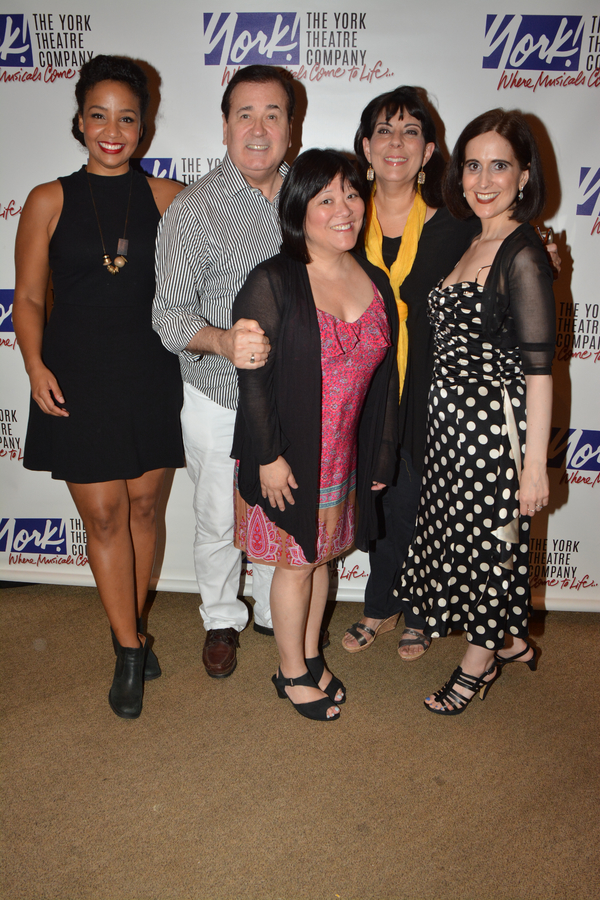 Stephanie Umoh, Lee Roy Reams, Ann Harada, Christine Pedi and Stephanie D'Abruzzo
