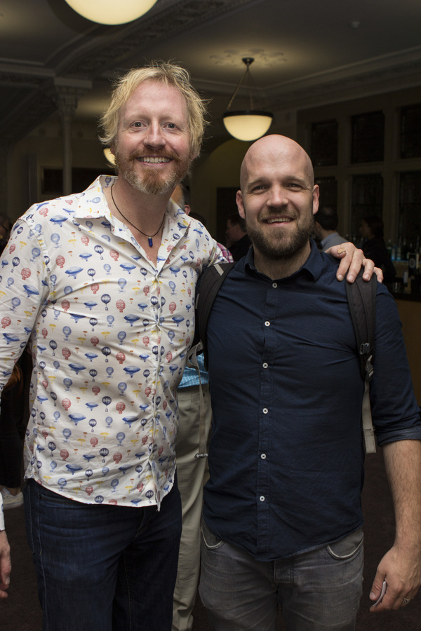 Andrew Pollard and Matthew Ganley Photo
