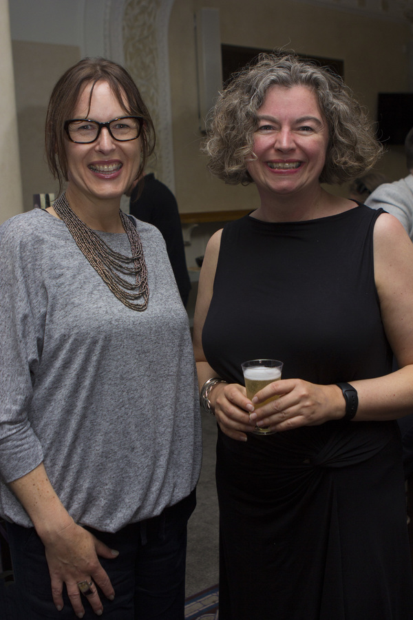 Laura Eason and Theresa Heskins
