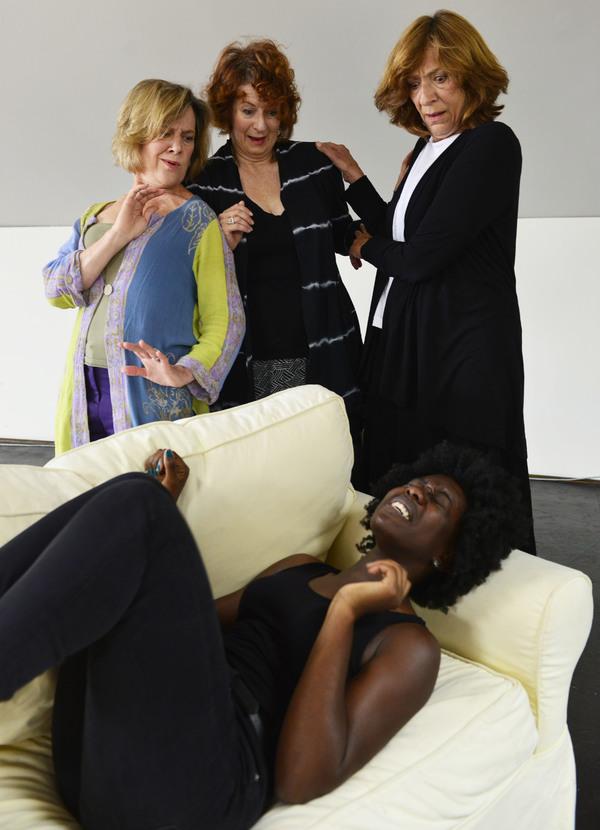 Obehi Janice; Debra Wise, Paula Plum, and Sarah Hickler Photo