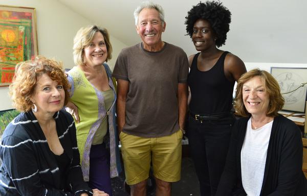 Paula Plum, Debra Wise, Israel Horovitz; Obehi Janice & Sarah Hickler Photo