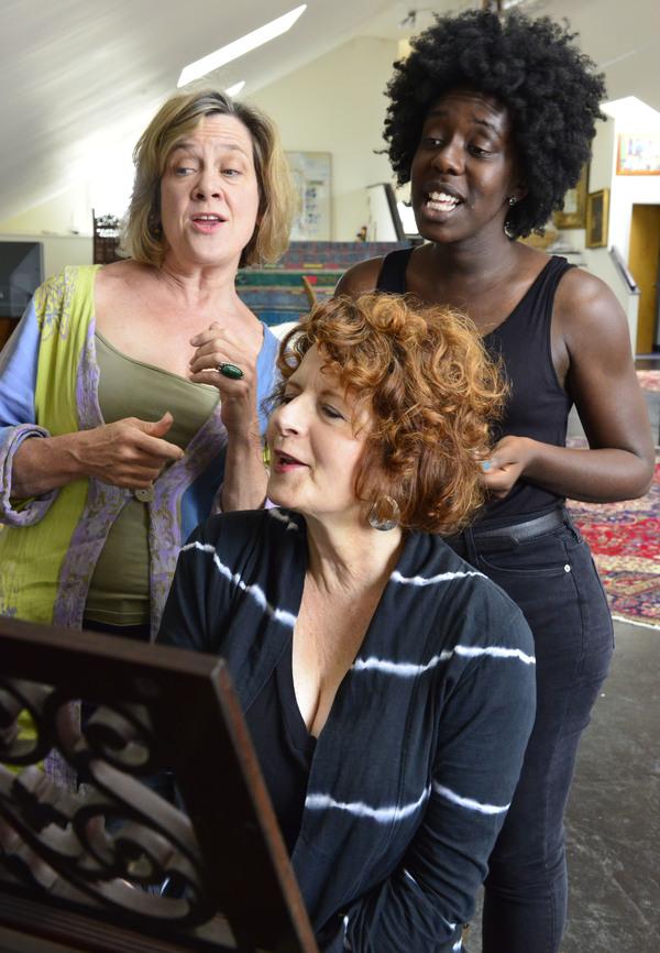 Debra Wise, Paula Plum, and Obehi Janice Photo