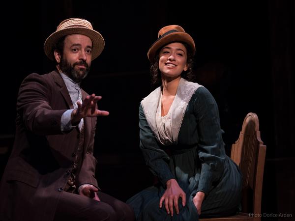 Josh Powell and Lauren Annunziata Photo