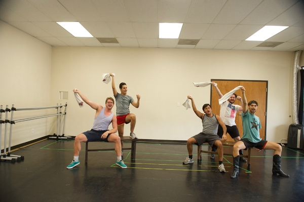 Photo Flash: In Rehearsal with TexARTS BEST LITTLE WHOREHOUSE IN TEXAS