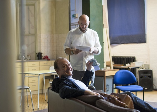 Photo Flash: In Rehearsal for UK Tour of Frederick Knott's WAIT UNTIL DARK