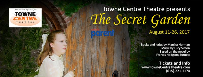 the secret garden set to open at towne centre theatre friday