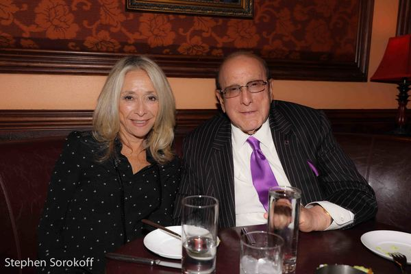 Eda Sorokoff & Clive Davis