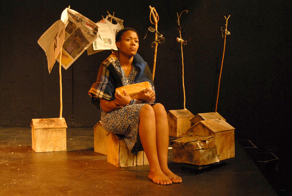 Photo Coverage: Lara Foot's TSHEPANG - THE THIRD TESTAMENT at the Edinburgh Assembly Fringe Festival