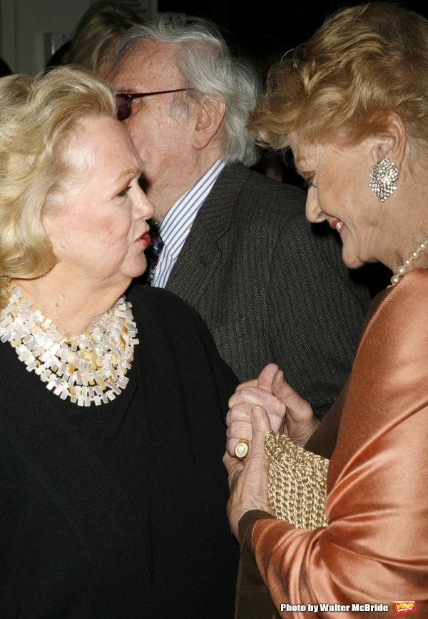 Angela Lansbury and Barbara Cook attending the 51st Annual Drama Desk Awards at  FH Laguardia Concert Hall at Lincoln Center in New York City. May 21, 2006