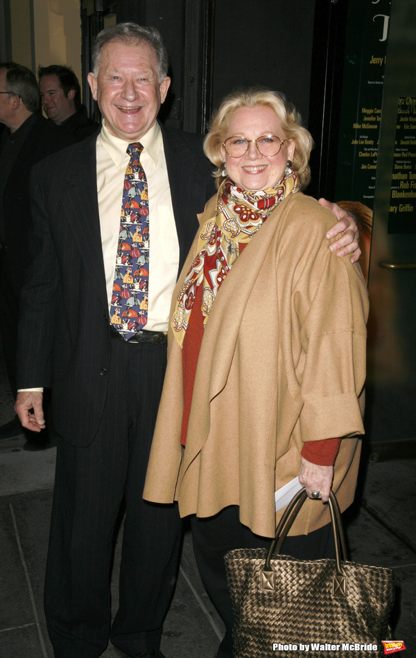 Barbara Cook & Harvey Evans attending the Opening Night Performance of THE APPLE TREE at Studio 54 in New York City. December 14, 2006