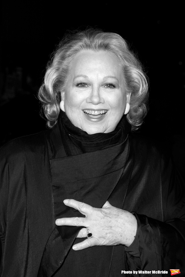 Barbara Cook attending the All-Star Stephen Sondheim 75th Birthday Celebration,  CHILDREN AND ART at the New Amsterdam Theatre in New York City. March 21, 2005