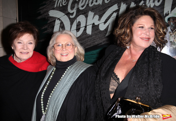 Polly Bergen, Barbara Cook and Lainie Kazan.attending the Opening Night Performance o Photo