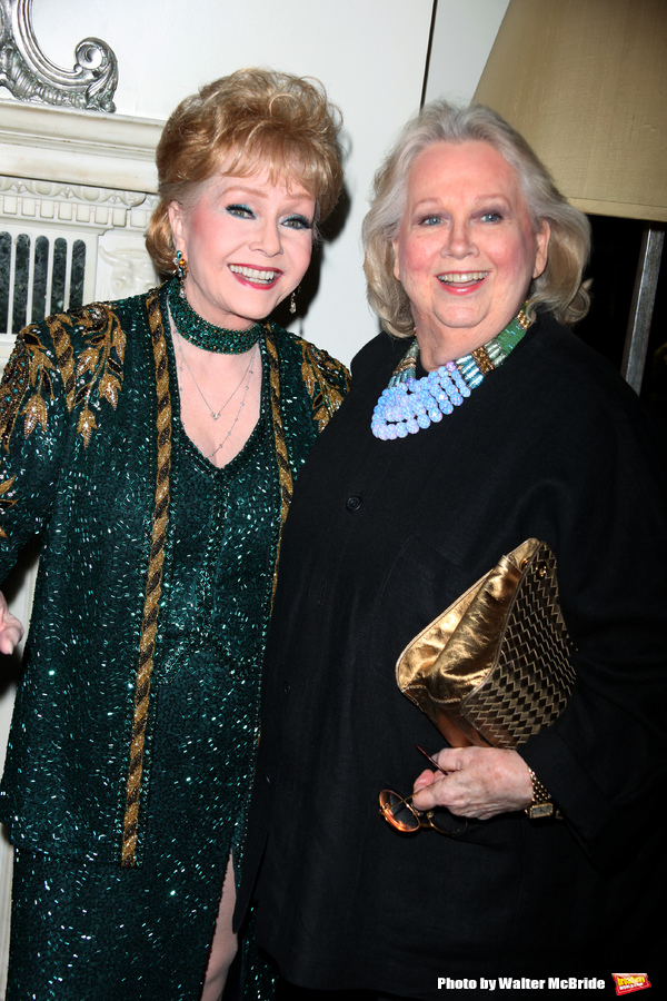Debbie Reynolds & Barbara Cook attending the Opening Night of Debbie Reynolds at the Cafe Carlyle, Carlyle Hotel in New York City. June 3, 2009