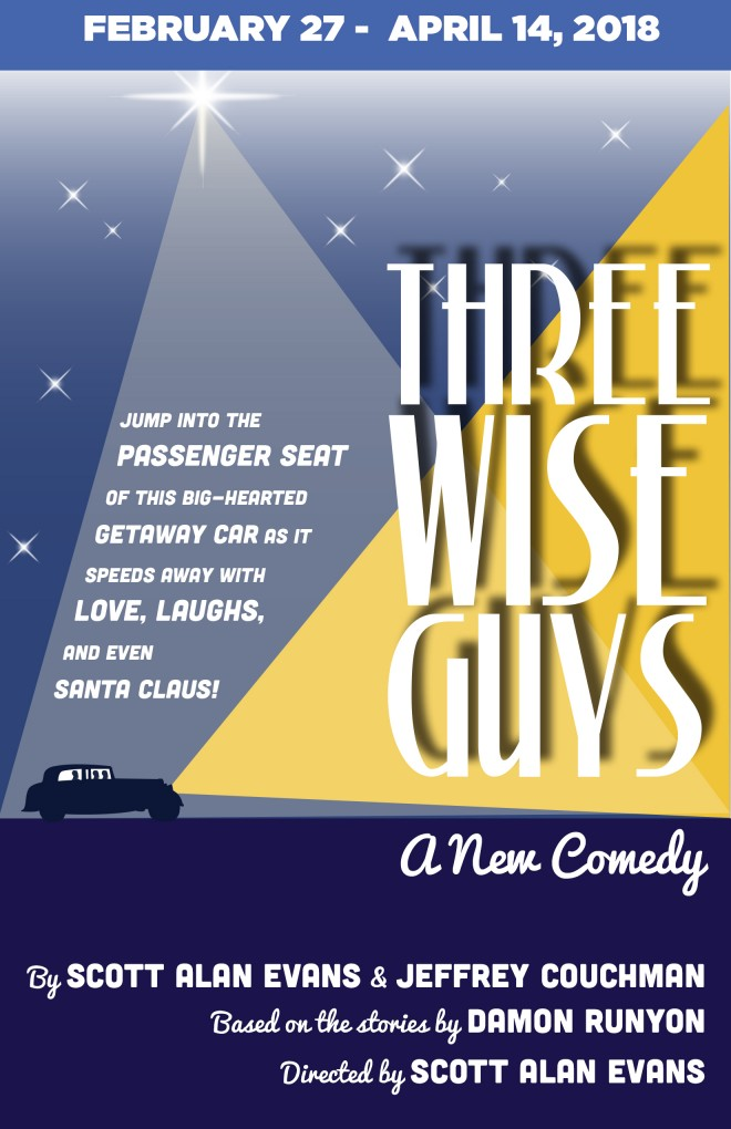 SALUTE TO THE BRAVE, THREE WISE GUYS Premieres to Launch TACT's 25th Anniversary Season