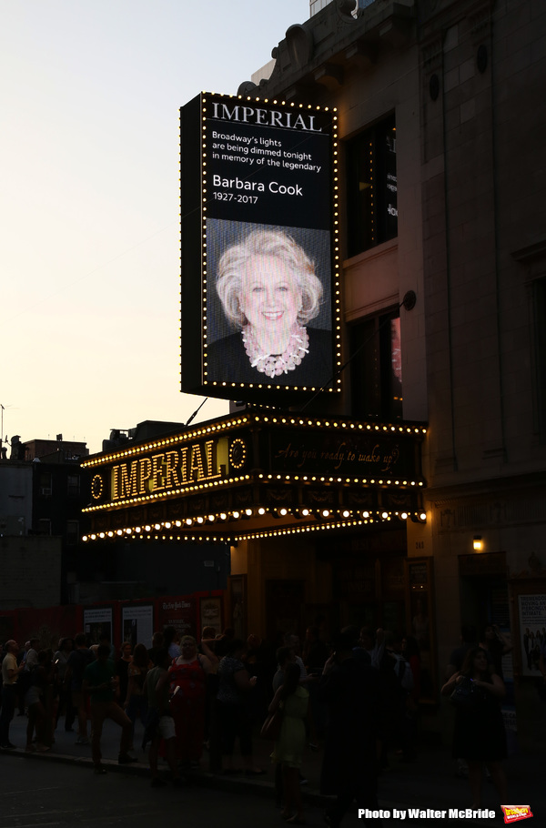 Photo Coverage: Broadway Dims The Lights In Memory of the Late Barbara Cook