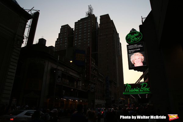 Broadway Dims The Lights In Memory of Barbara Cook