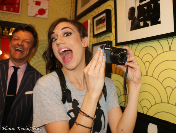Jim Caruso and Colleen Ballinger