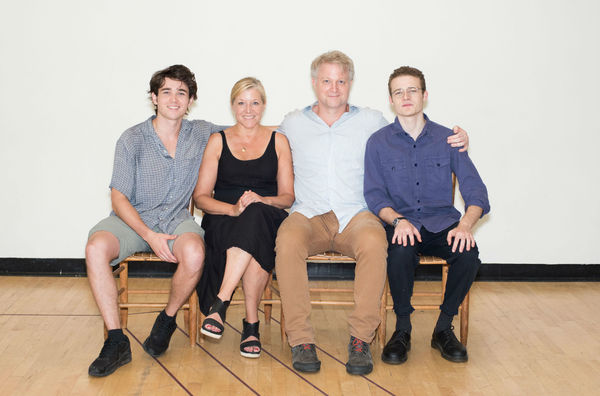 Photo Flash: In Rehearsal for ON THE SHORE OF THE WIDE WORLD at Atlantic Theater Company