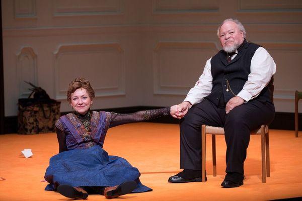 Julie White and Stephen McKinley Henderson