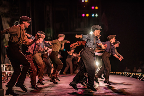 BWW Photo Exclusive: Watch What Happens... Backstage with NEWSIES at The Muny!