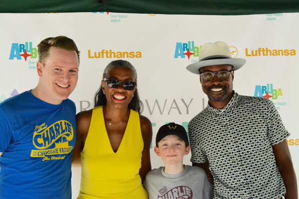 Photo Coverage: Casts of COME FROM AWAY. CHARLIE, and More Dazzle Broadway In Bryant Park