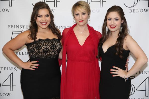 Lauren Baez, Eden Espinosa, and Sarah Fernandez