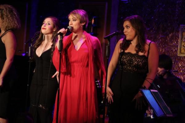 Sarah Fernandez, Eden Espinosa, and Lauren Baez