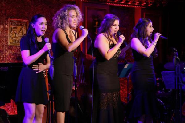 Kimberly Immanuel, Gabrielle Garcia, Lauren Baez, and Sarah Fernandez  Photo