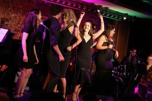 Kimberly Immanuel, Frankie Gonzalez, Gabrielle Garcia, Sarah Fernandez, and Lauren Ba Photo