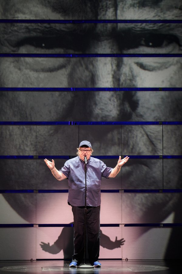 BWW Review: The Resistance Hits Broadway in Michael Moore's THE TERMS OF MY SURRENDER