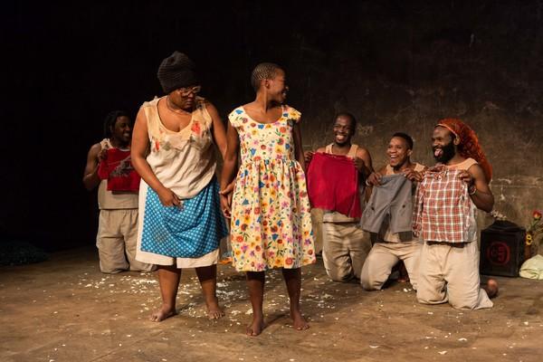 Mdu Kweyama, Zoleka Helesi, Chuma Sopotela, Thami Mbongo, Bongile Mantsai and Mfundo  Photo