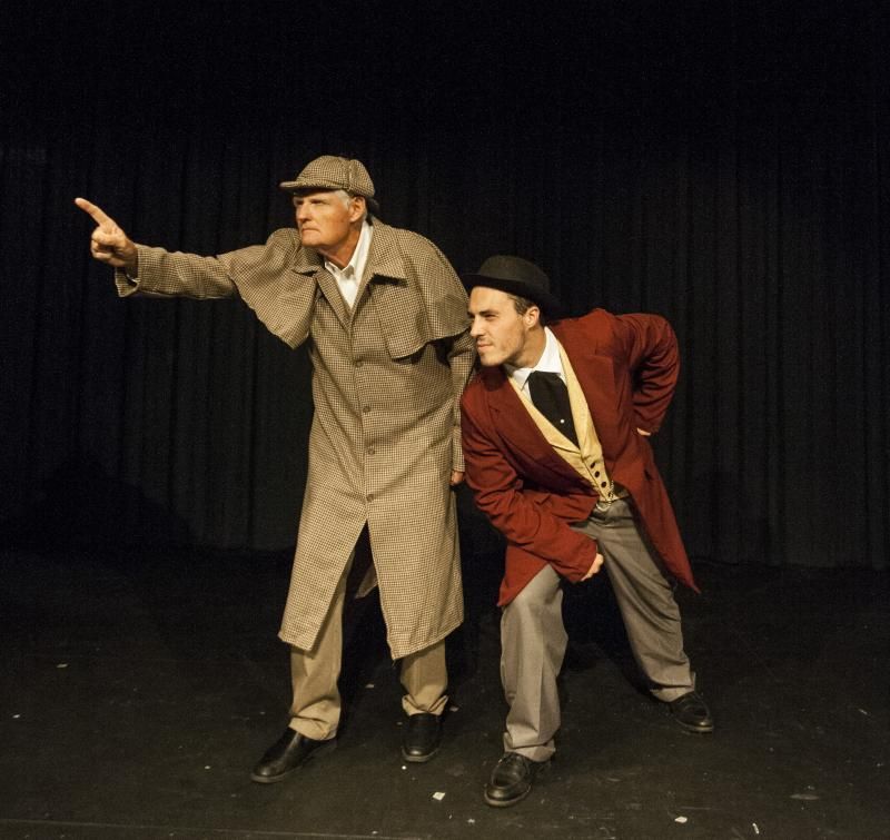 BWW Review: Montevallo Main Street Players Release the Comedy Hounds in BASKERVILLE