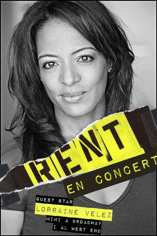 EXCLUSIVA: Lorraine Velez será invitada especial en RENT EN CONCERT