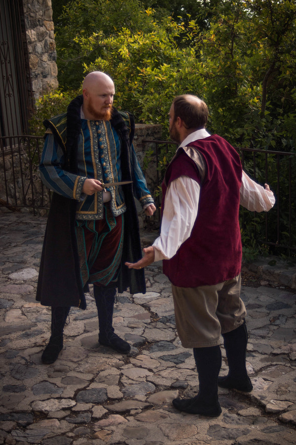 Photo Flash: Sneak Peek at Zion Theatre Company's Play About Shakespeare, THE DROWN'ED BOOK