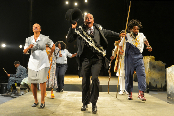 Photo Flash: First Look at the West Coast Premiere of BLACK ODYSSEY at Cal Shakes