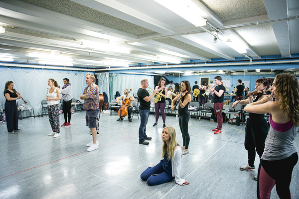 Photo Flash: In Rehearsals for SON OF A PREACHER MAN UK Tour Starring Diana Vickers