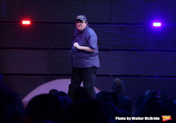 Photo Coverage: Michael Moore Takes Opening Night Bows in THE TERMS OF MY SURRENDER