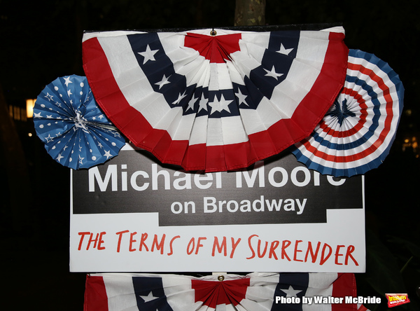 'Michael Moore on Broadway - The Terms Of My Surrender'