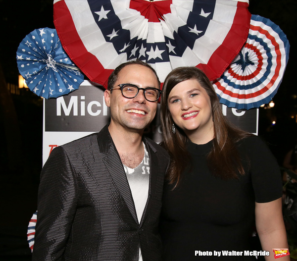 Photo Coverage: Michael Moore Celebrates Broadway Debut in THE TERMS OF MY SURRENDER