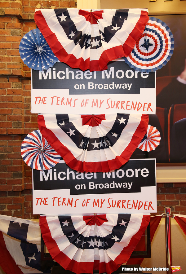 'Michael Moore on Broadway'