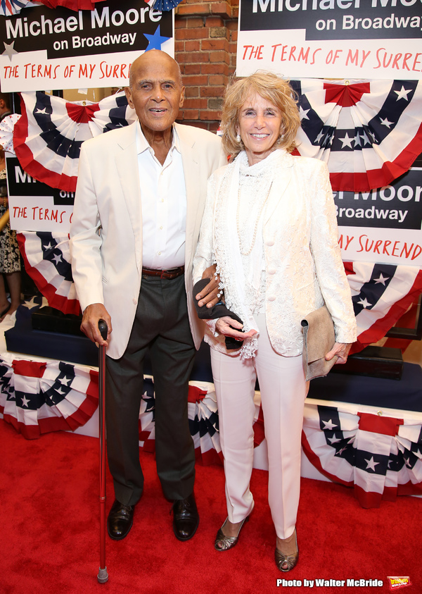 Harry Belafonte and Pamela Frank  Photo