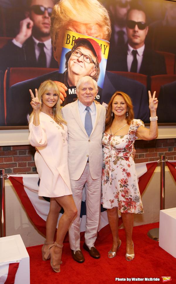 Christie Brinkley, Phil Donahue and Marlo Thomas